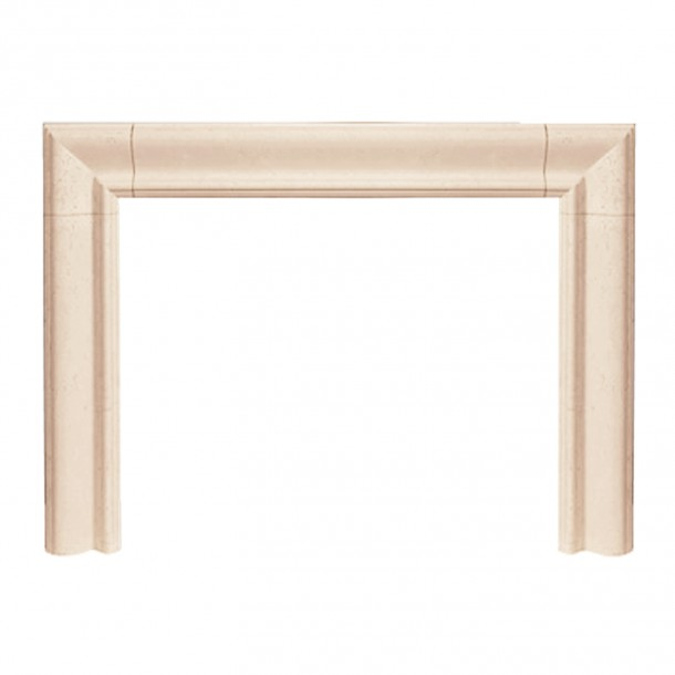 Builder Series Estate Cast Stone Fireplace Mantel BE10000