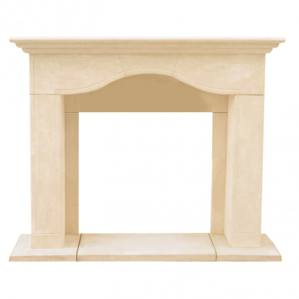 Chateau Series Marissa Cast Stone Fireplace Mantel CM14004