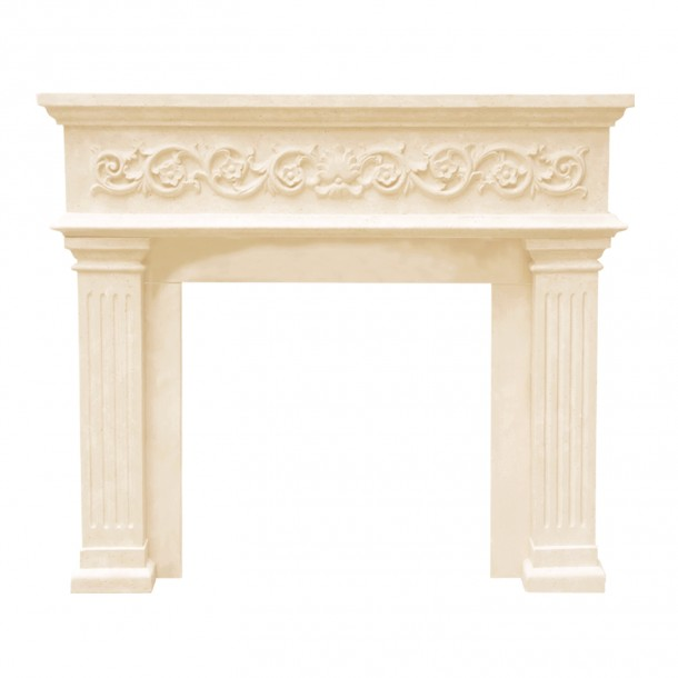Designer Series Michael Angelo Cast Stone Fireplace Mantel DM11000