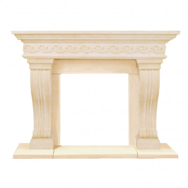 President Series Sierra Cast Stone Fireplace Mantel PS16000